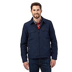 Lee - Navy light quilted jacket
