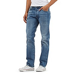 Levi's - Big and tall light blue 501® straight leg jeans