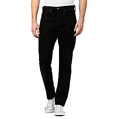 Levi's - 501 CT black straight fit jeans