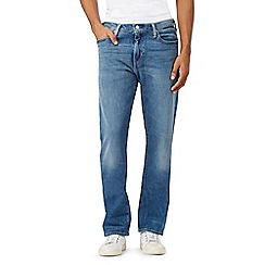 Levi's - 504&#8482 light wash blue straight jeans
