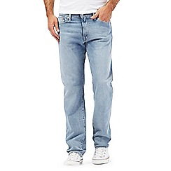 Levi's - Light blue 504 straight jeans