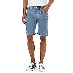 Levi's - Light blue 505 denim shorts