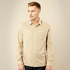 Levi's - Beige checked work shirt