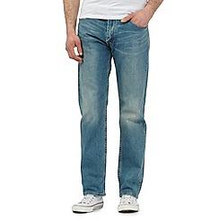 Levi's - Blue 504 'Junegrass' jeans