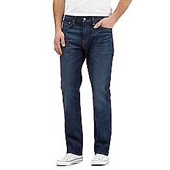 Levi's - Big and tall blue 541 straight fit jeans