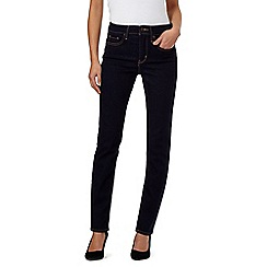 Levi's - Dark blue 312 shaping slim jeans