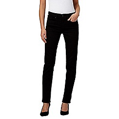Levi's - Black 312 shaping slim jeans