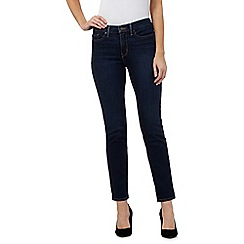 Levi's - Blue 312 shaping slim jeans