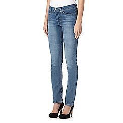 Levi's - Light blue 312 shaping slim jeans