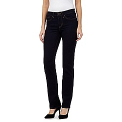 Levi's - Dark blue 314 shaping straight jeans