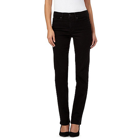 Levi's Black 314 shaping straight jeans   Debenhams