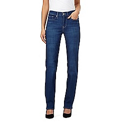 Levi's - Light blue 314 shaping straight jeans