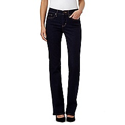 Levi's - Dark blue 315 shaping bootcut jeans