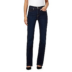 Levi's - Blue 315 shaping bootcut jeans