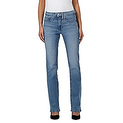 Levi's - Light blue 315 shaping bootcut jeans