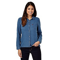 Levi's - Blue denim shirt