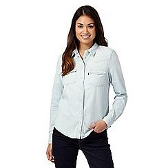 Levi's - Light blue 'Western' denim shirt