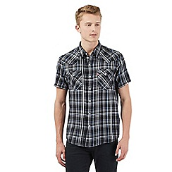 Levi's - Grey checked print shirt