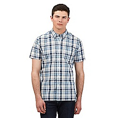 Levi's - White check print shirt