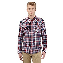 Levi's - Blue checked print shirt