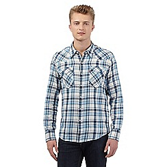 Levi's - White checked print shirt