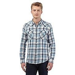 Levi's - White checked print shirt