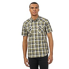Levi's - Green checked western style shirt