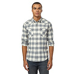 Levi's - White checked shirt