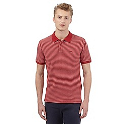 Levi's - Red striped polo shirt