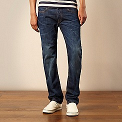 Lee - Dark blue 'Daren' slim fit jeans