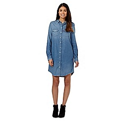Levi's® - Blue denim shirt dress