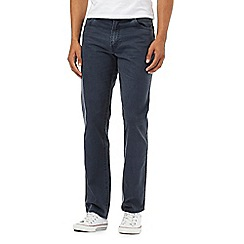 Wrangler - Texas navy stretch jeans