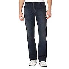 Wrangler - Big and tall texas dark blue slim fit jeans