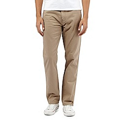 Wrangler - Texas beige water resistant stretch jeans