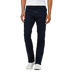 Wrangler - Texas dark blue stretch jeans