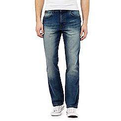 Wrangler - Dark blue vintage wash jeans