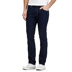 Wrangler - Dark blue coolmax 'Bostin' slim fit jeans