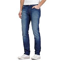 Wrangler - Bostin dark blue wash slim fit jeans