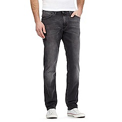 Wrangler - Bostin dark grey slim fit jeans