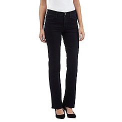 Wrangler - Rinse wash bootcut high-waisted jeans