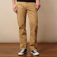 Levi's - 751&#8482 beige twill straight leg trousers