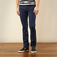 Levi's - 511 blue slim fit twill trousers