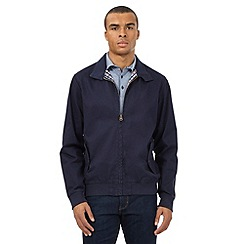 Wrangler - Big and tall navy shower resistant dover jacket