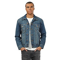 Wrangler - Blue vintage wash denim jacket