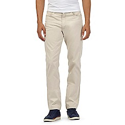 Lee - Big and tall beige cord trousers
