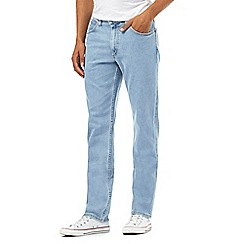 Lee - Big and tall light wash straight leg jeans