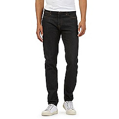 Lee - Dark blue rinse straight fit jeans