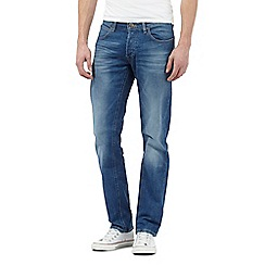 Lee - Blue mid wash slim fit jeans