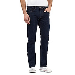 Lee - Dark indigo 'Daren' straight leg jeans