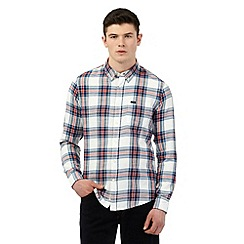 Lee - Multi-coloured checked print long sleeved shirt